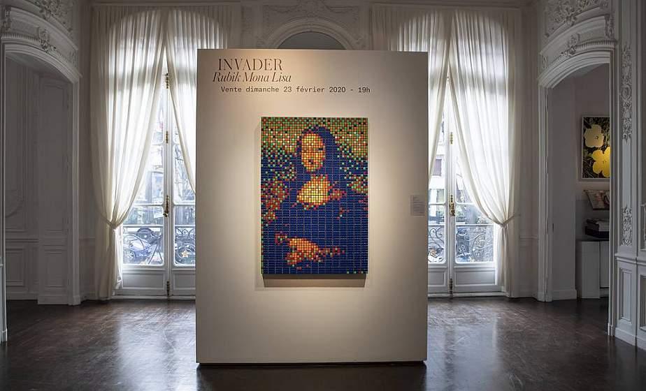 «Мону Лизу» из кубиков Рубика продали на аукционе в Париже почти за €500 тыс.