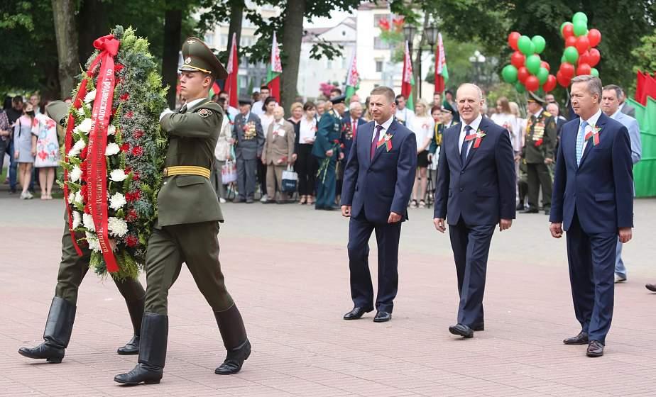 Торжественный митинг в честь Дня Независимости прошел в Гродно