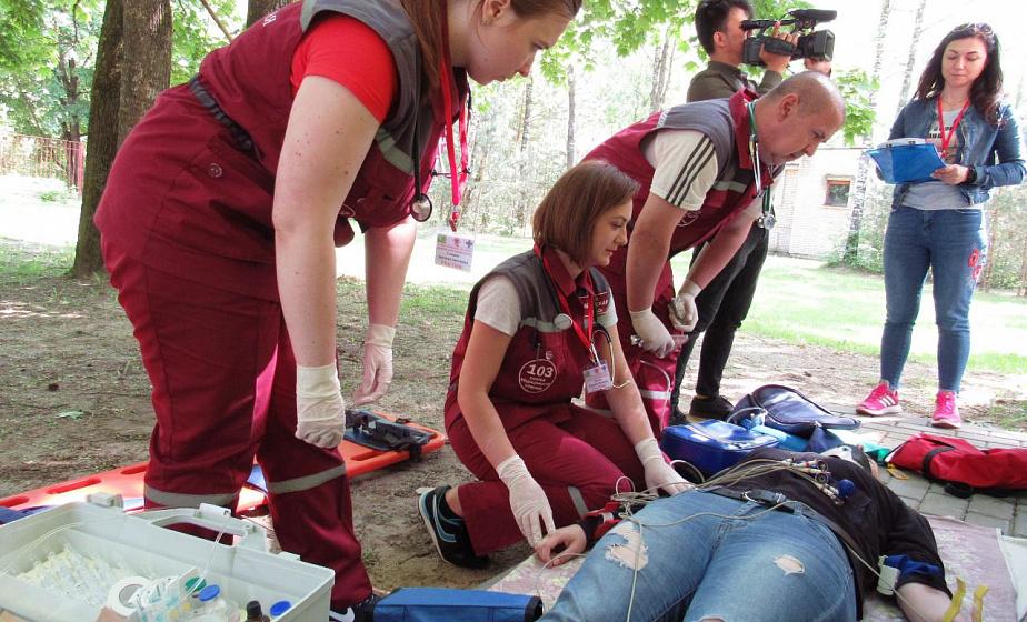 В Гродно впервые проходят областные соревнования бригад скорой медицинской помощи