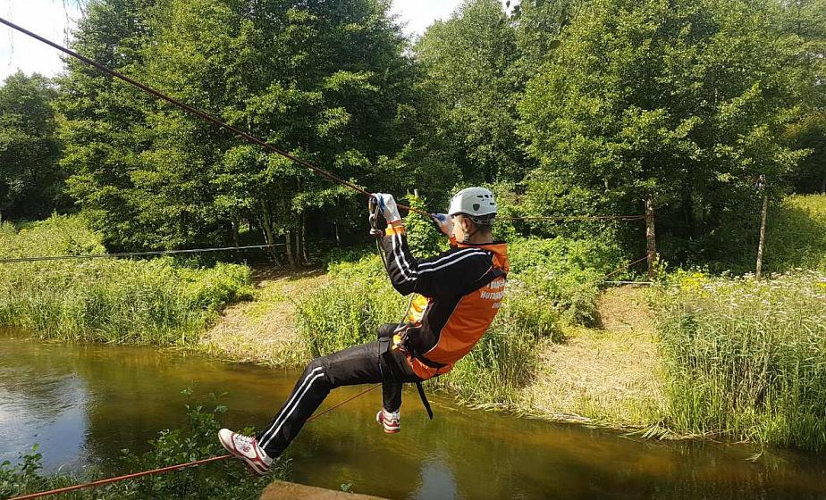 Лес, спортивные состязания и тимбилдинг. Силовики региона провели турслет на Августовском канале