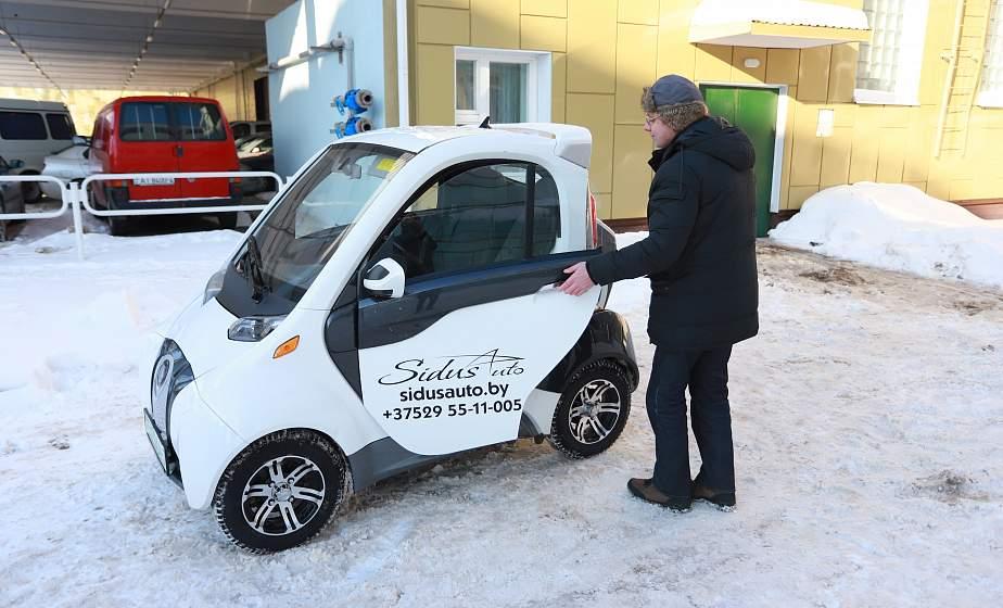 120 км на одной зарядке. В технопарке ГрГУ имени Янки Купалы презентовали мини-электрокары. Какие еще здесь создают инновации