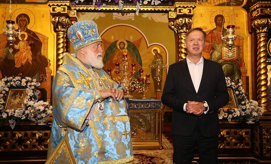 Богослужение в честь Рождества Пресвятой Богородицы провёл в Гродно митрополит Павел Патриарший Экзарх Всея Беларуси