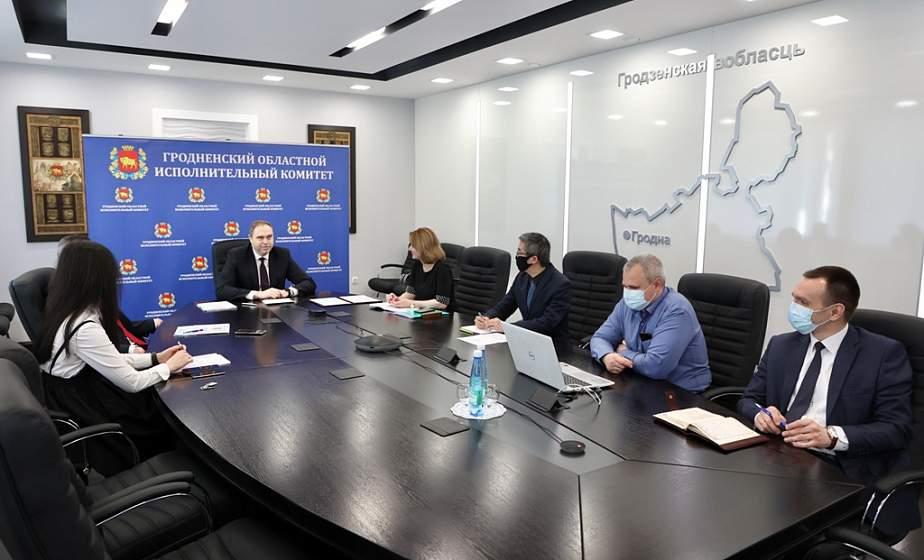 Председатель облисполкома Владимир Караник представил белорусский опыт борьбы с пандемией в рамках Боаоского Азиатского форума в Китае