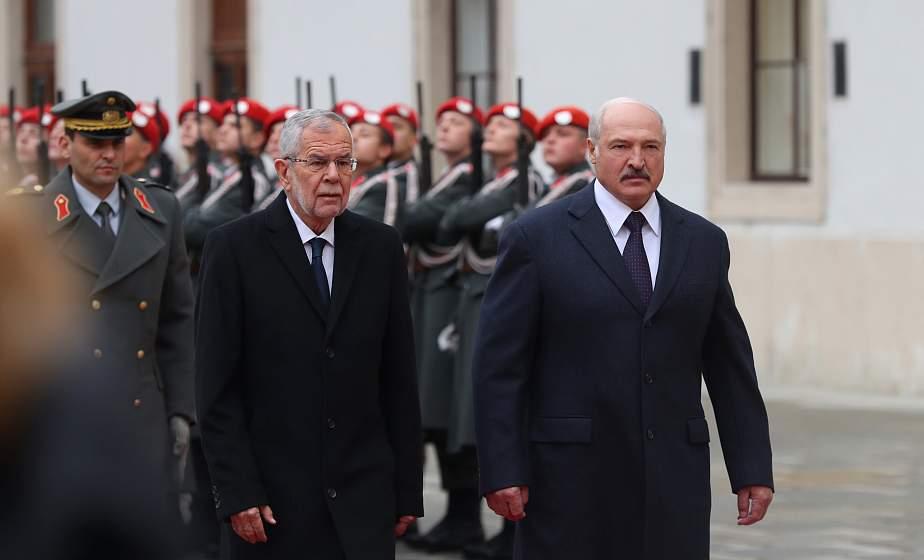 Тема недели: Визит Президента Беларуси в Австрию