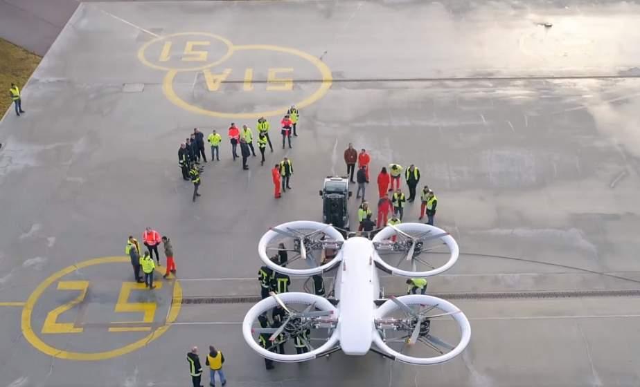 Во Франции свой первый полноценный полет совершило аэротакси CityAirbus