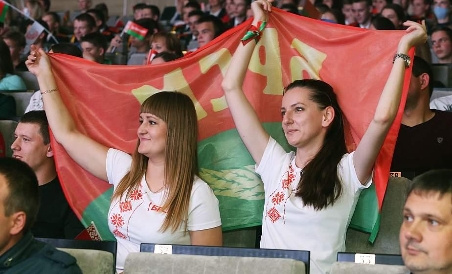 Участники молодежного форума «Беларусь — это мы» рассказали, за что они любят Беларусь (Видео)